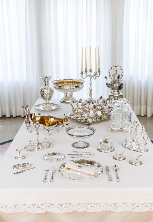 Collezione di Lusso in oro, argento, cristallo e pietre semipreziose, Imperiale - Argenteria Calegaro 1921 Made in Italy