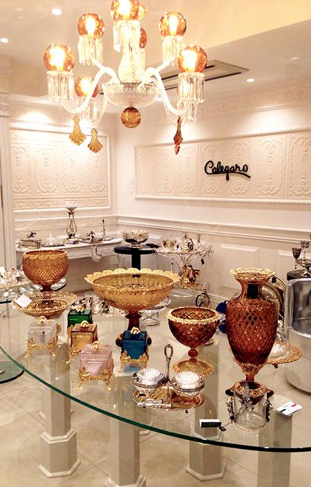 Boutique Tehran Lusso, Cristalli - Argenteria Calegaro 1921 Made in Italy