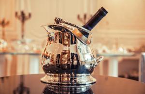 Secchio da Champagne Martellato Argenteria Boutique Tehran Lusso - Argenteria Calegaro 1921 Made in Italy